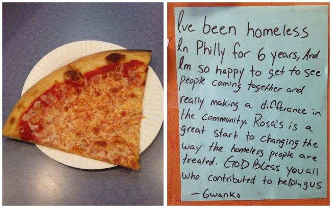 Philadelphia Pizza Parlor Demonstrates It Doesn't Take Much To Make A Difference