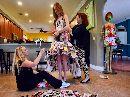 Eco-Friendly Designer Transforms Garbage Into Glamorous Outfits