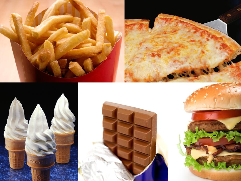 Healthy Food And Junk Food Images