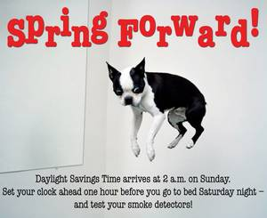 Prepare To Spring Forward! Daylight Saving Begins This Sunday