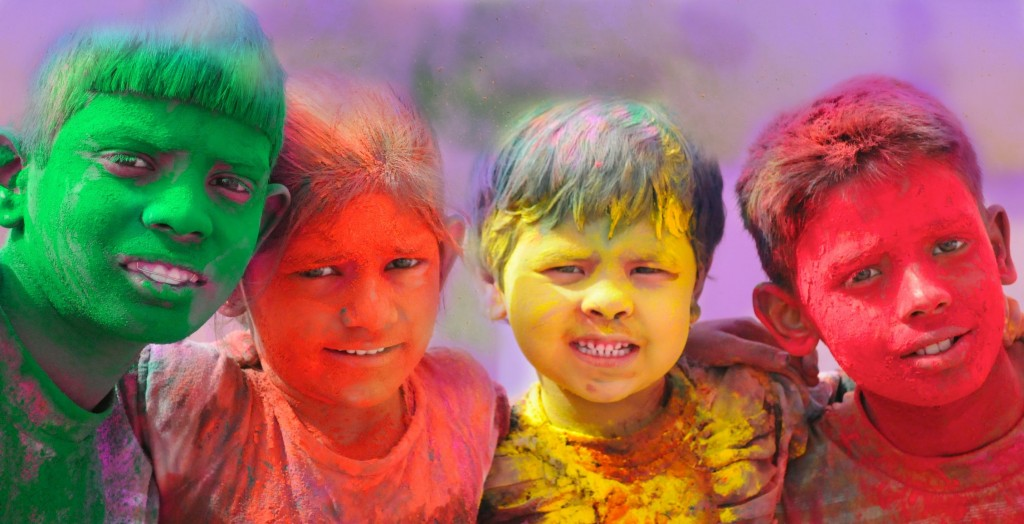 India s holi festival welcomes spring with vibrant bursts of color